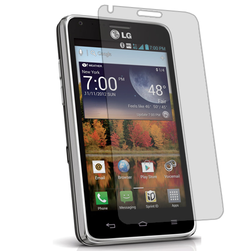 LG Mach LS860 Clear LCD Screen Protector