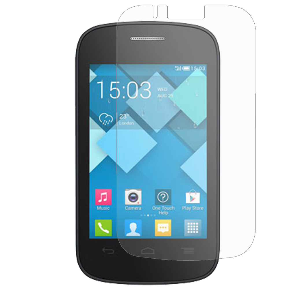 Alcatel One Touch Pop C1 Clear LCD Screen Protector