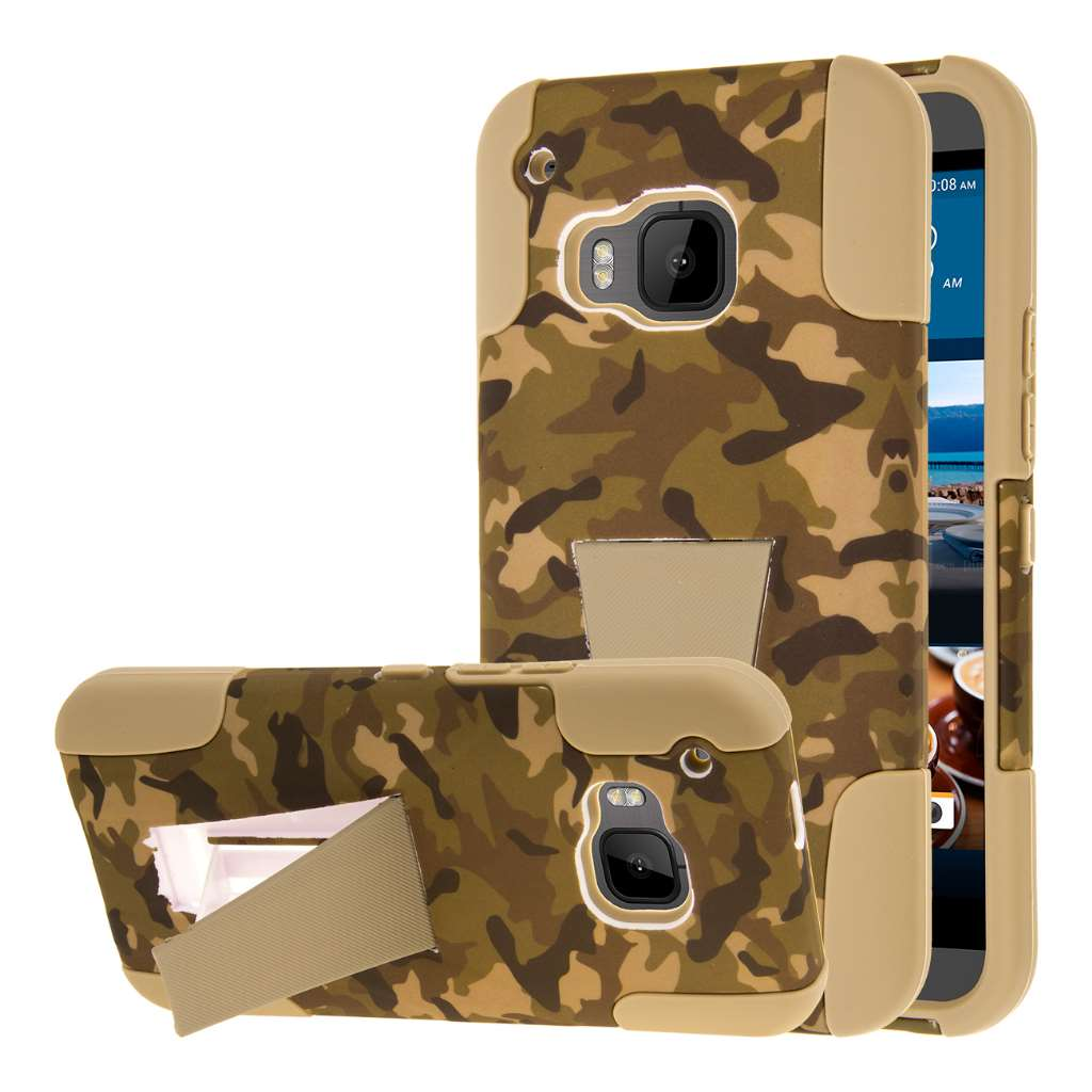 HTC One M9 - Hunter Camo MPERO IMPACT X - Kickstand Case Cover