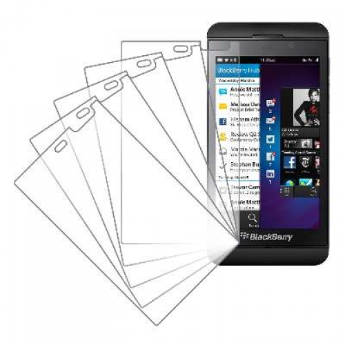 Blackberry Z10 MPERO 5 Pack of Clear Screen Protectors