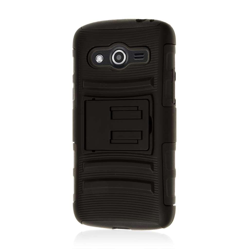 Samsung Galaxy Avant - Black MPERO IMPACT XT - Kickstand Case Cover
