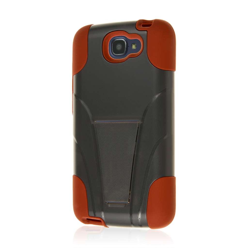 Alcatel OneTouch Fierce 2 - Sandstone / Gray MPERO IMPACT X - Kickstand Case