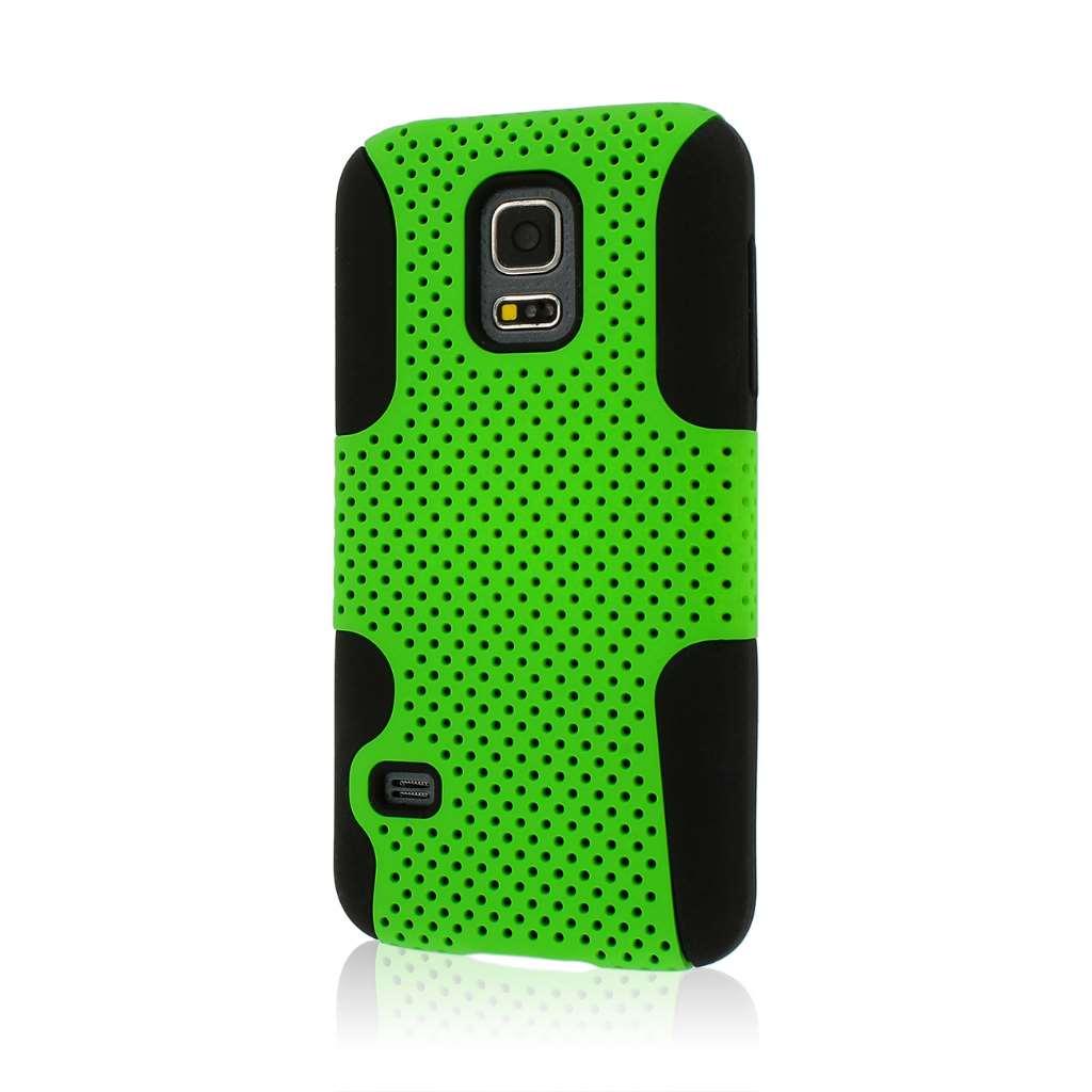 Samsung Galaxy S5 Mini - Neon Green MPERO FUSION M - Protective Case Cover