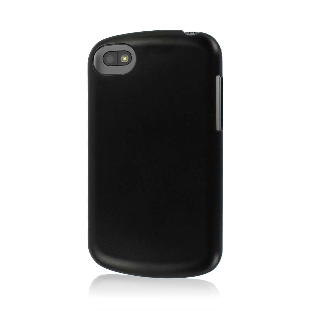 Blackberry Q5 - Black MPERO SNAPZ - Glossy Case Cover