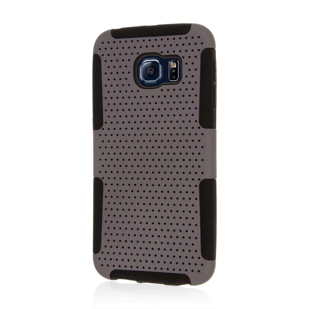 Samsung Galaxy S6 Edge - Gray MPERO FUSION M - Protective Case Cover