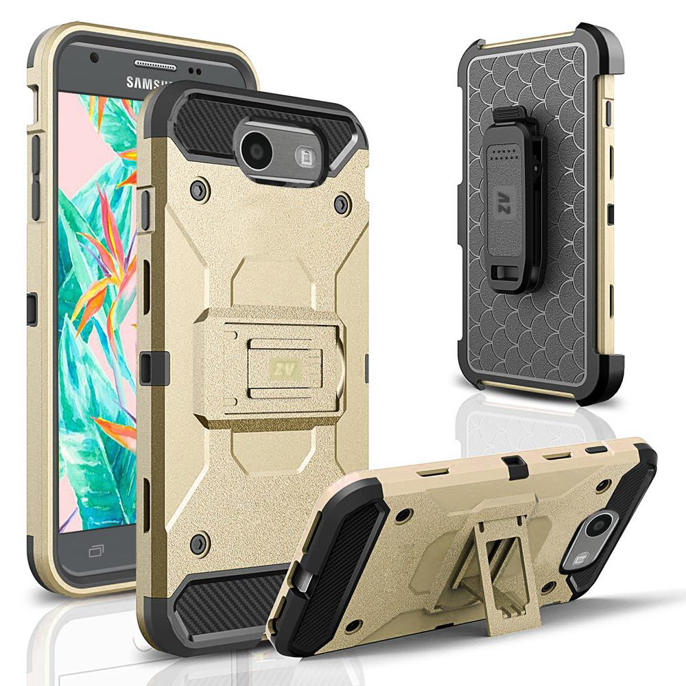 For Samsung Galaxy J3 Emerge Tough Case Defender Holster