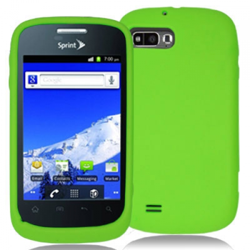 ZTE Fury N850 Neon Green Silicone Soft Skin Case Cover
