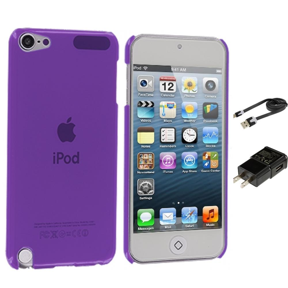 Ipod Touch 5th Gen Charger Color Ultra Thin Snap On Hard
