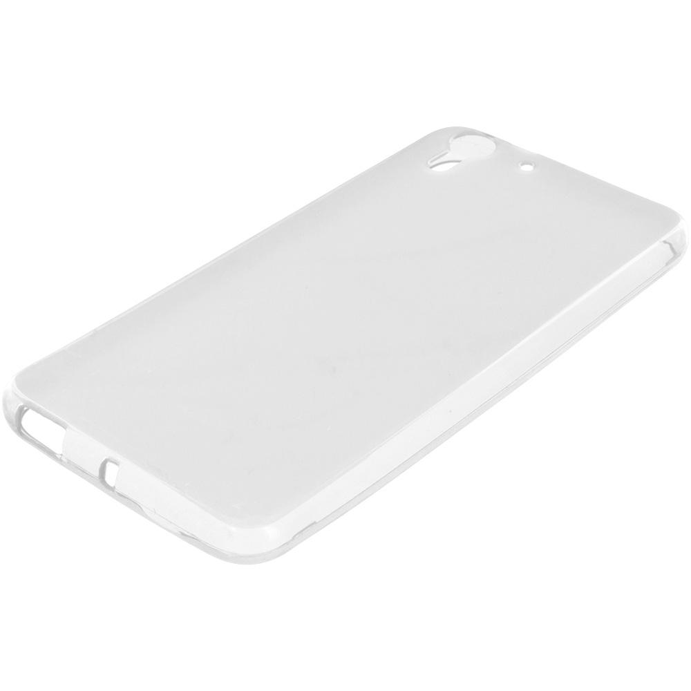 HTC Desire EYE Clear TPU Rubber Skin Case Cover