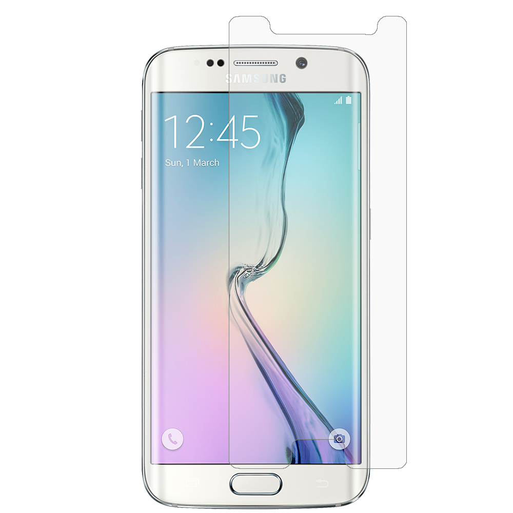 Samsung Galaxy S6 Edge (Does Not Cover Side Edge) Anti Glare LCD Screen Protector