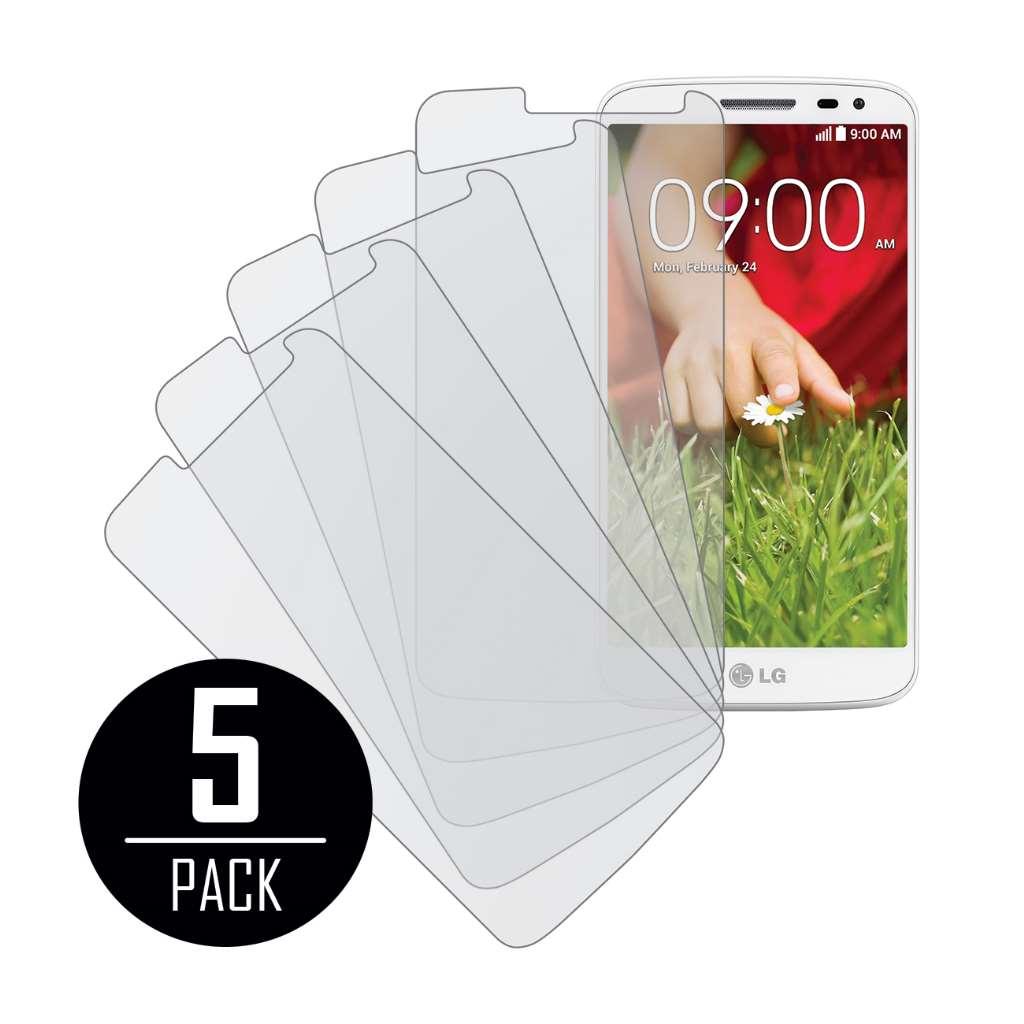 LG G2 Mini MPERO 5 Pack of Matte Screen Protectors