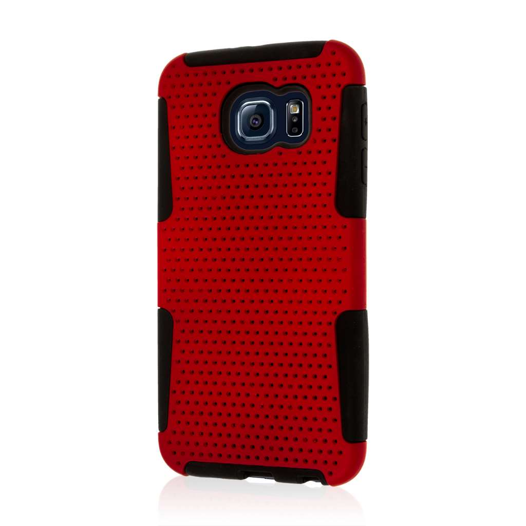 Samsung Galaxy S6 - Red MPERO FUSION M - Protective Case Cover