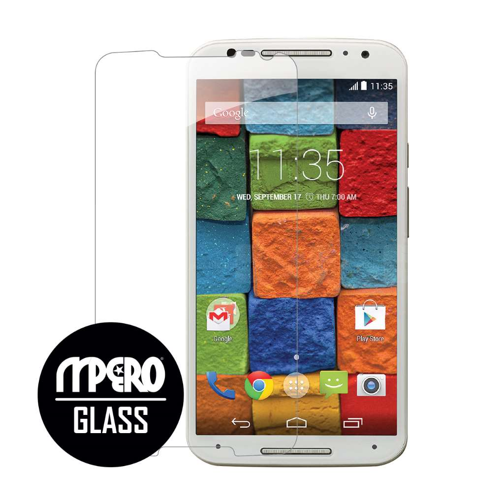 Motorola Moto X 2014 2nd Gen MPERO Tempered Glass Screen Protector