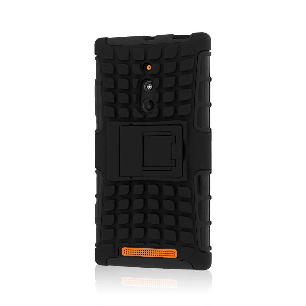 Nokia Lumia 830 - Black MPERO IMPACT SR - Kickstand Case Cover