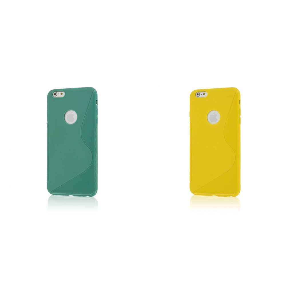 Apple iPhone 6 6S Plus - Mint Green Combo Pack : MPERO FLEX S - Protective Case Cover