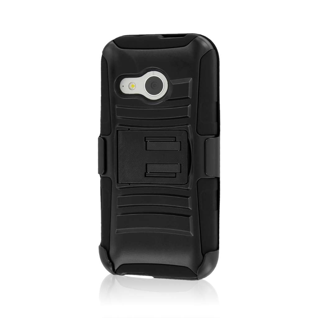 HTC One Mini 2 - Black MPERO IMPACT XT - Kickstand Case Cover