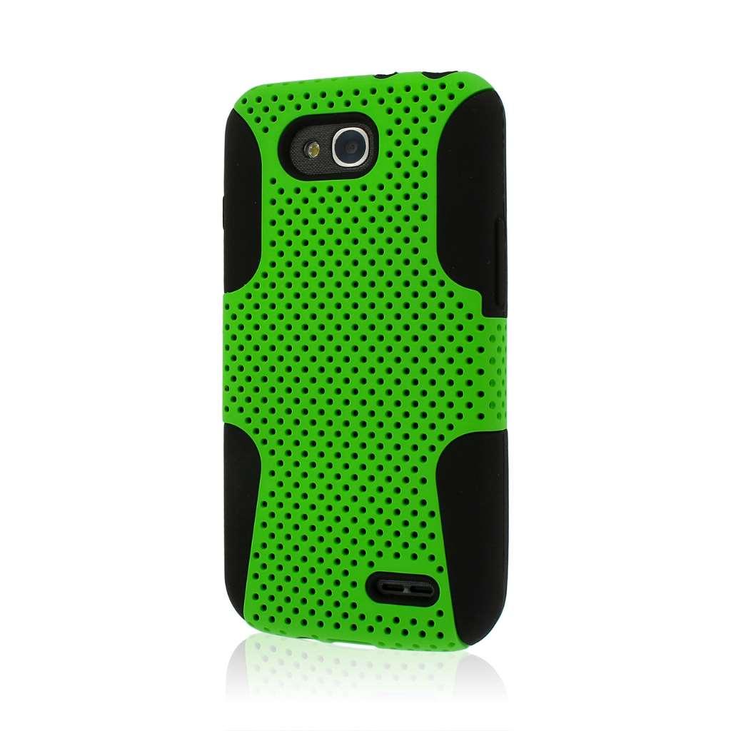 LG Optimus L90 - Neon Green MPERO FUSION M - Protective Case Cover