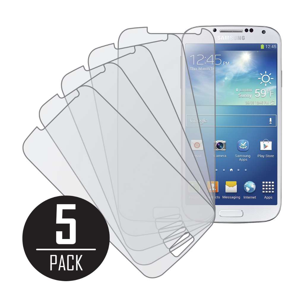Samsung Galaxy S4 MPERO 5 Pack of Matte Anti-Glare Screen Protectors