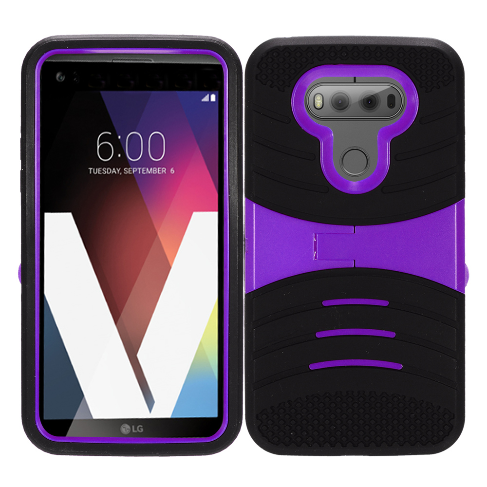 For Lg V20 Heavy Duty Protection Case Silicone Hard Phone