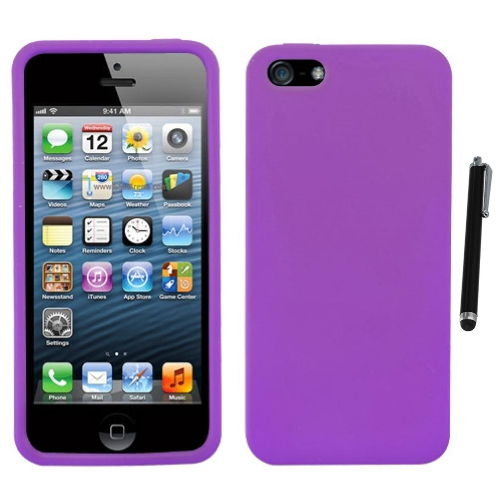 Squishy Case For Iphone 5s : For Apple iPhone 5/5S/SE Silicone Skin Rubber Soft Case Phone Cover Stylus Pen eBay