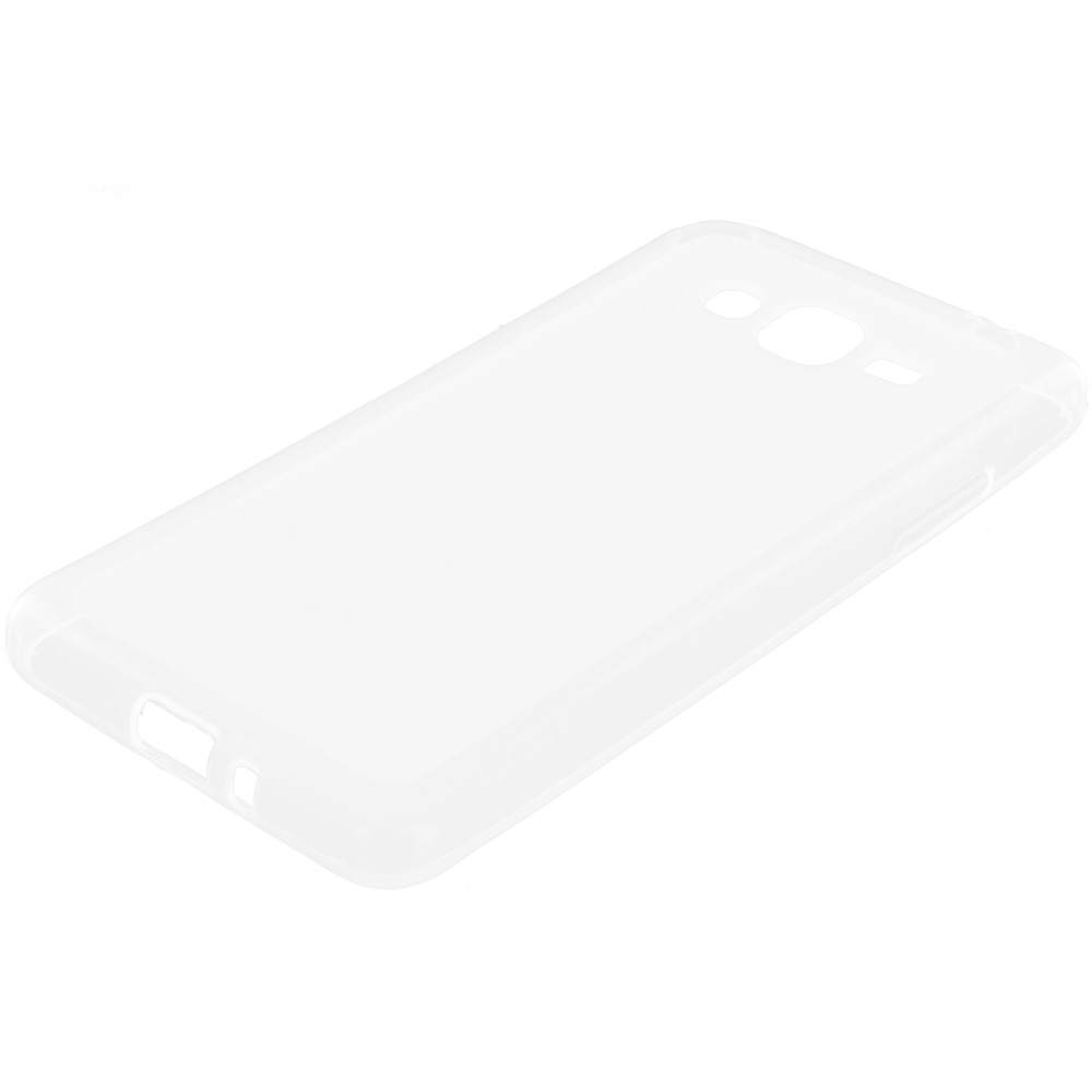 Samsung Galaxy Grand Prime LTE G530 Clear TPU Rubber Skin Case Cover