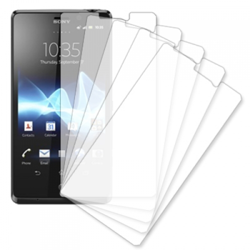 Sony Xperia TL LT30at MPERO 5 Pack of Clear Screen Protectors