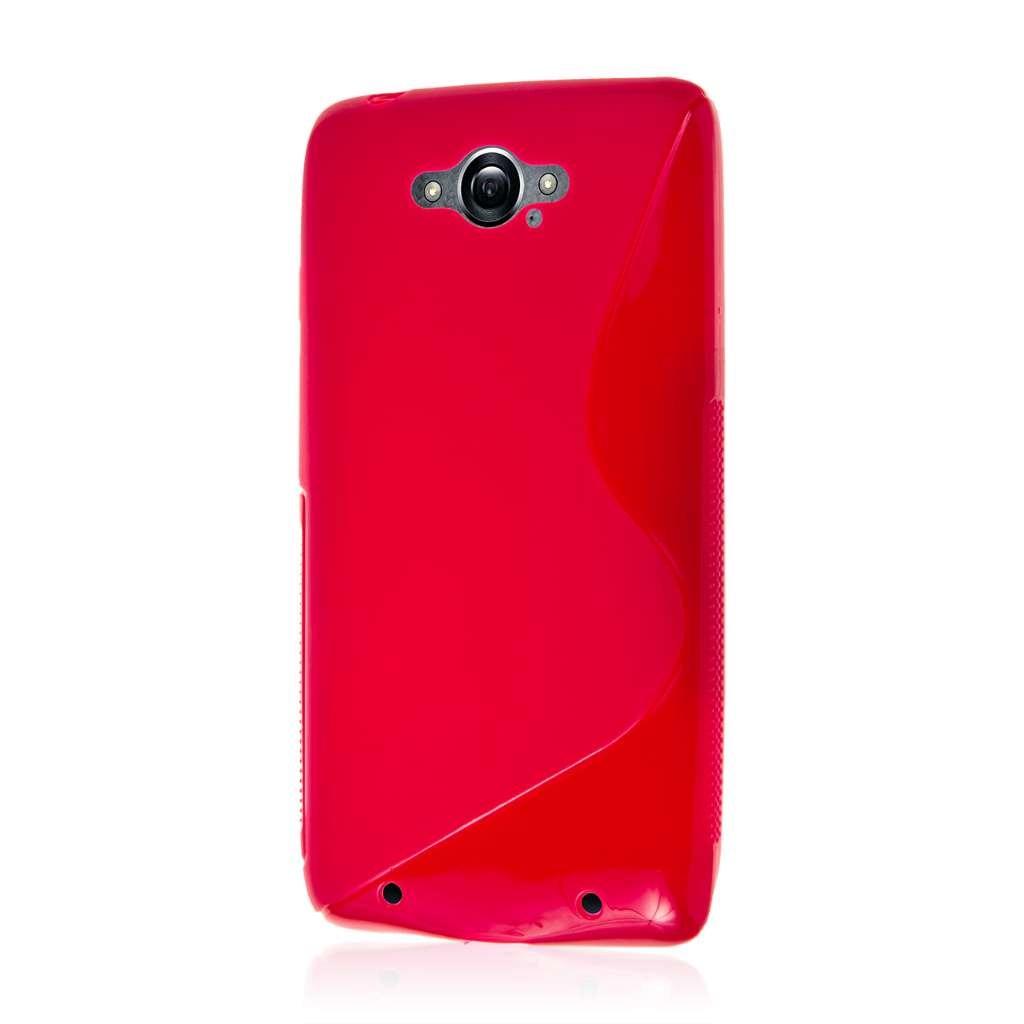 Motorola DROID TURBO - Hot Pink MPERO FLEX S - Protective Case Cover