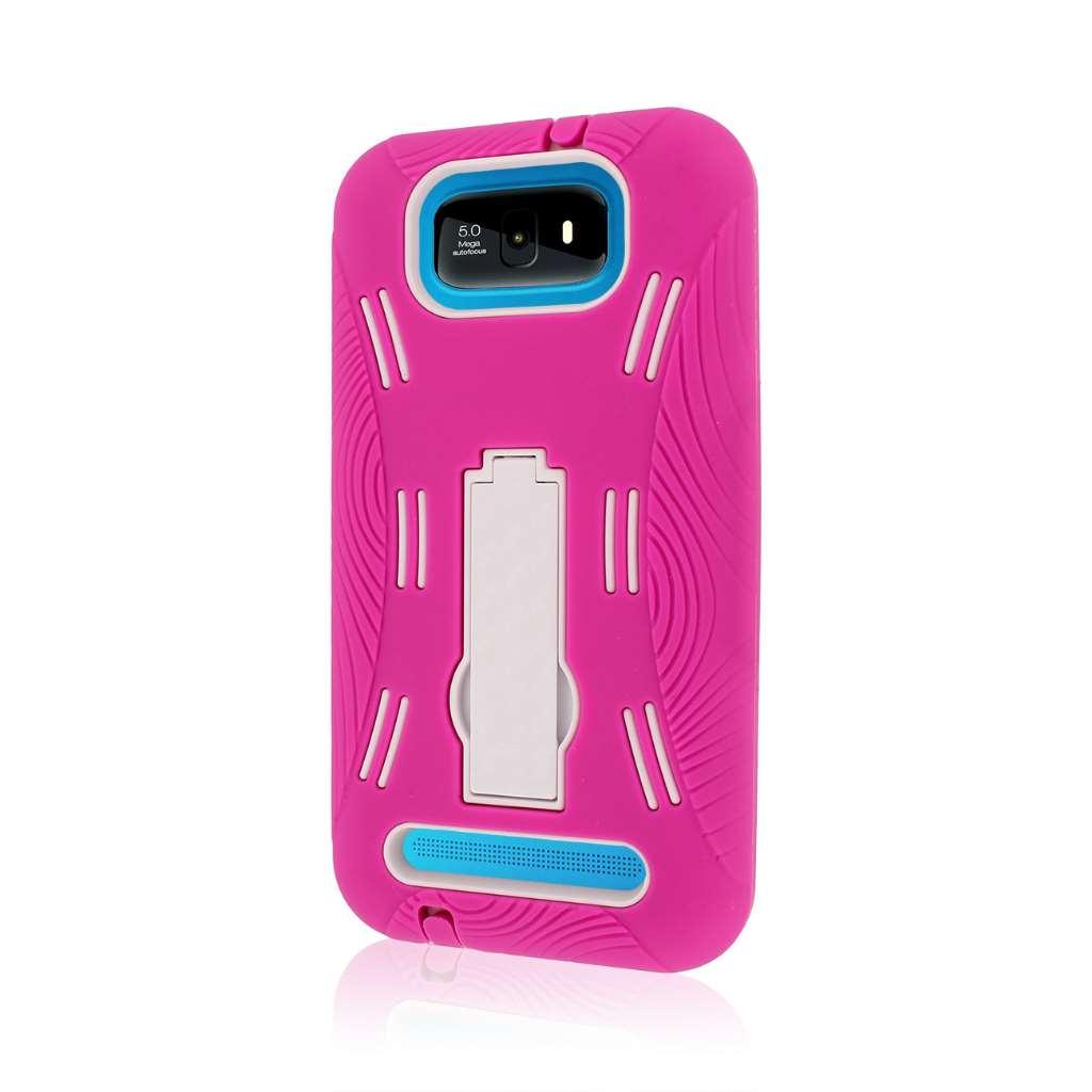 BLU Studio 5.5 - Hot Pink MPERO IMPACT XL - Kickstand Case Cover
