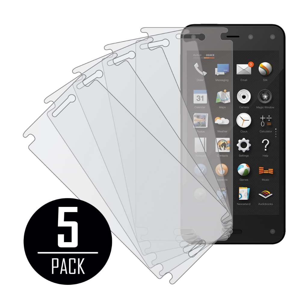 Amazon Fire Phone MPERO 5 Pack of Matte Screen Protectors