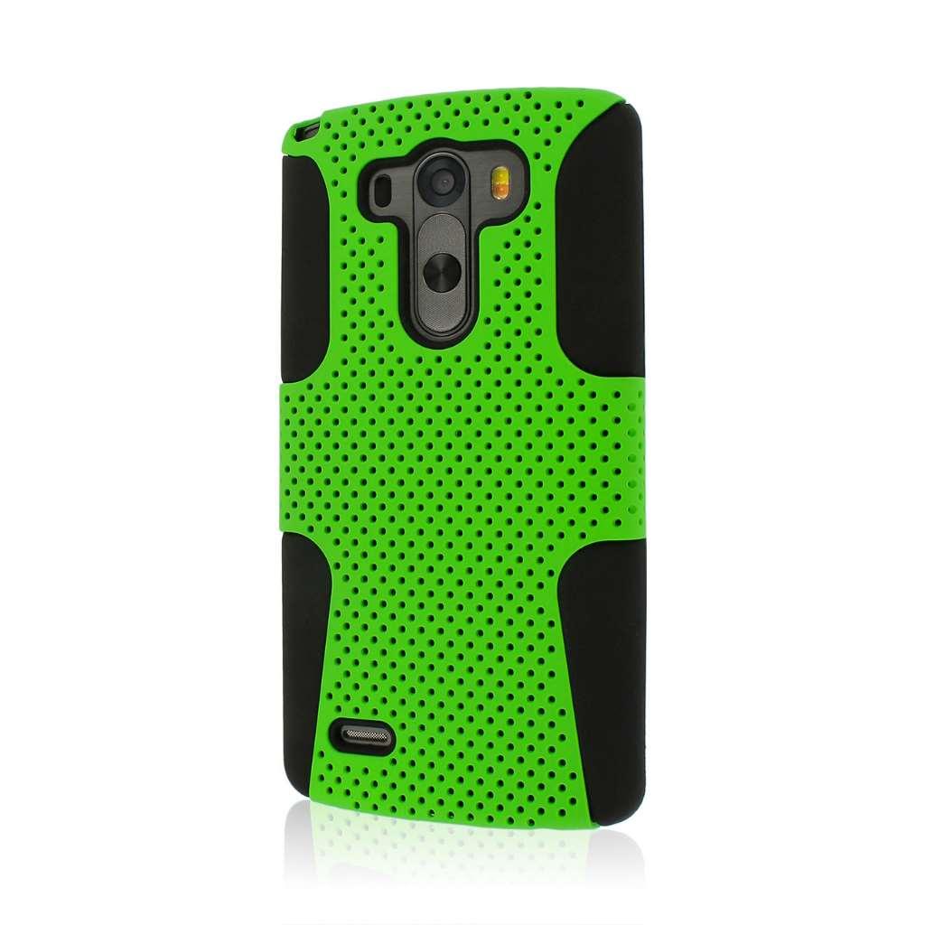 LG G3 - Neon Green MPERO FUSION M - Protective Case Cover