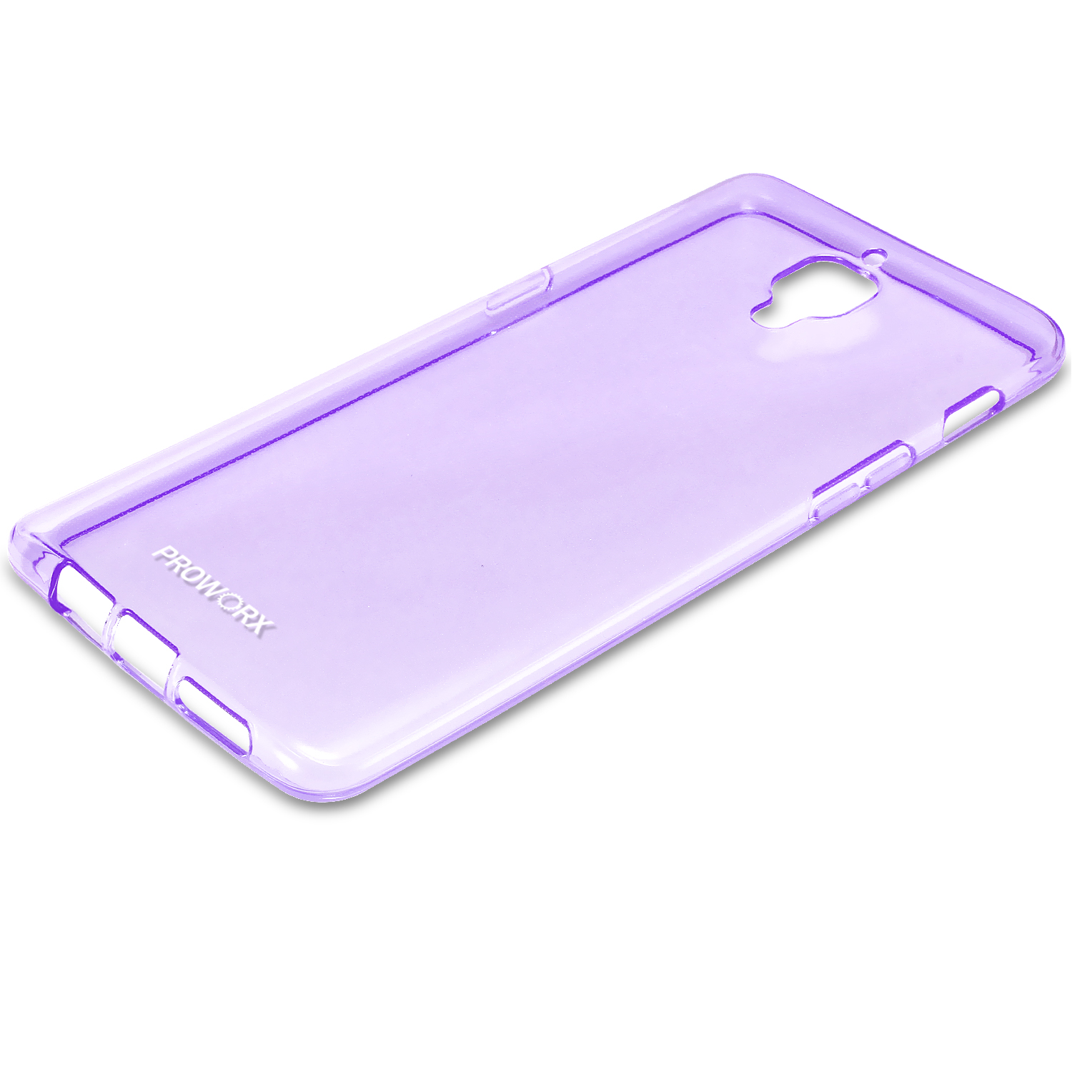 Oneplus Three 3 Purple ProWorx Ultra Thin Slim-Grip Scratch Resistant TPU Silicone Case Cover