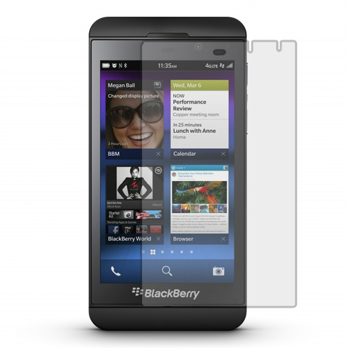 BlackBerry Z10 Clear LCD Screen Protector