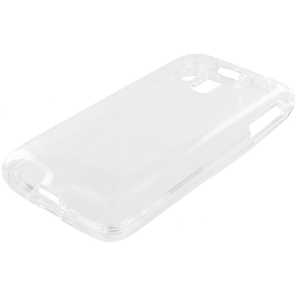 Kyocera Hydro Icon / Hydro Life Clear Crystal Transparent Hard Case Cover