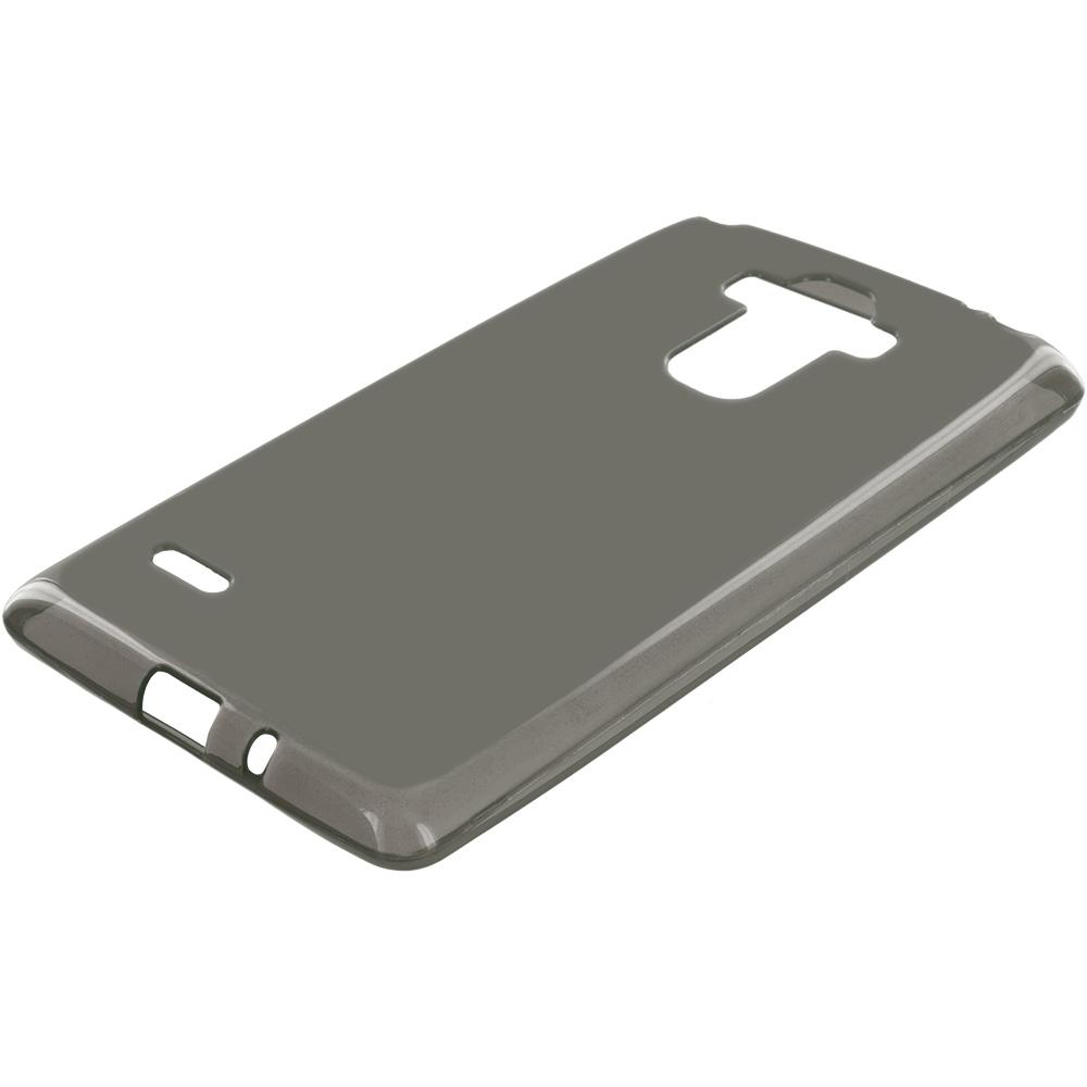 LG G Stylo Smoke TPU Rubber Skin Case Cover