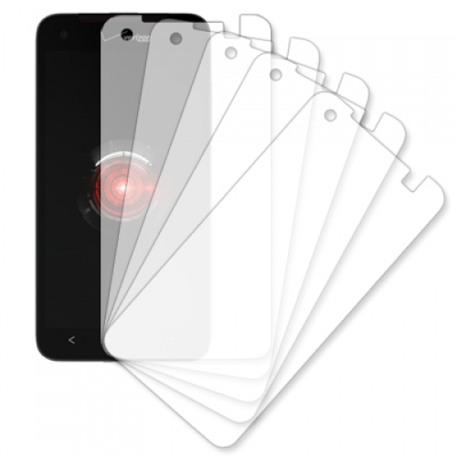 HTC DROID DNA 6435 MPERO 5 Pack of Clear Screen Protectors