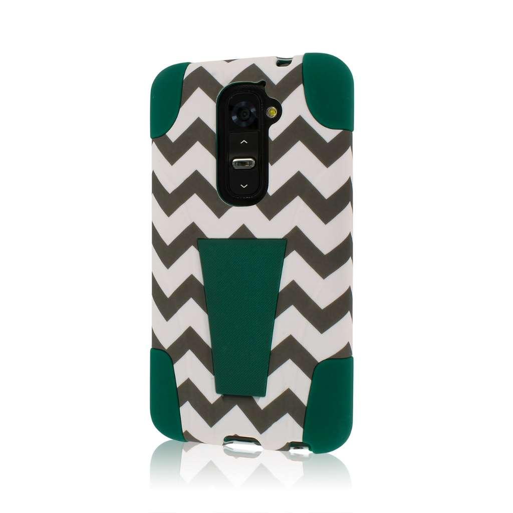 LG G2 MPERO IMPACT X - Kickstand Case Cover