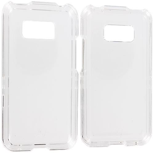 LG Optimus Elite LS696 Clear Crystal Transparent Hard Case Cover