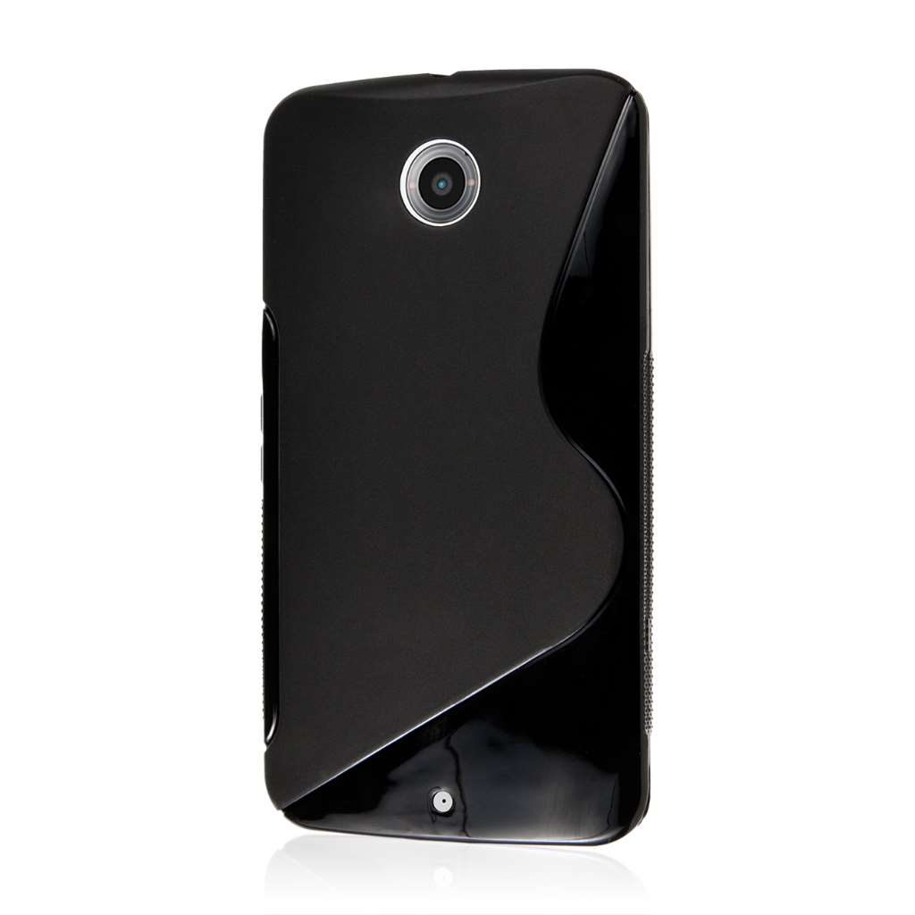 Google Nexus 6 - Black MPERO FLEX S - Protective Case Cover