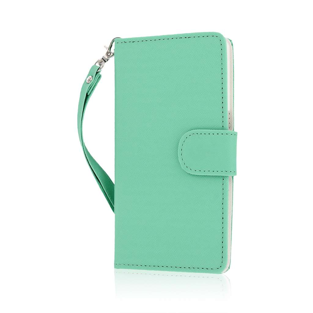OnePlus One - Mint MPERO FLEX FLIP Wallet Case Cover