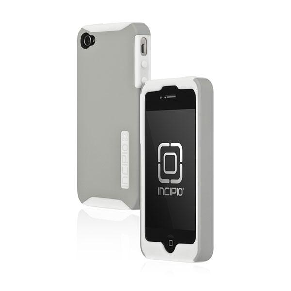 iPhone 4 - White/Silver Incipio Silicrylic Case