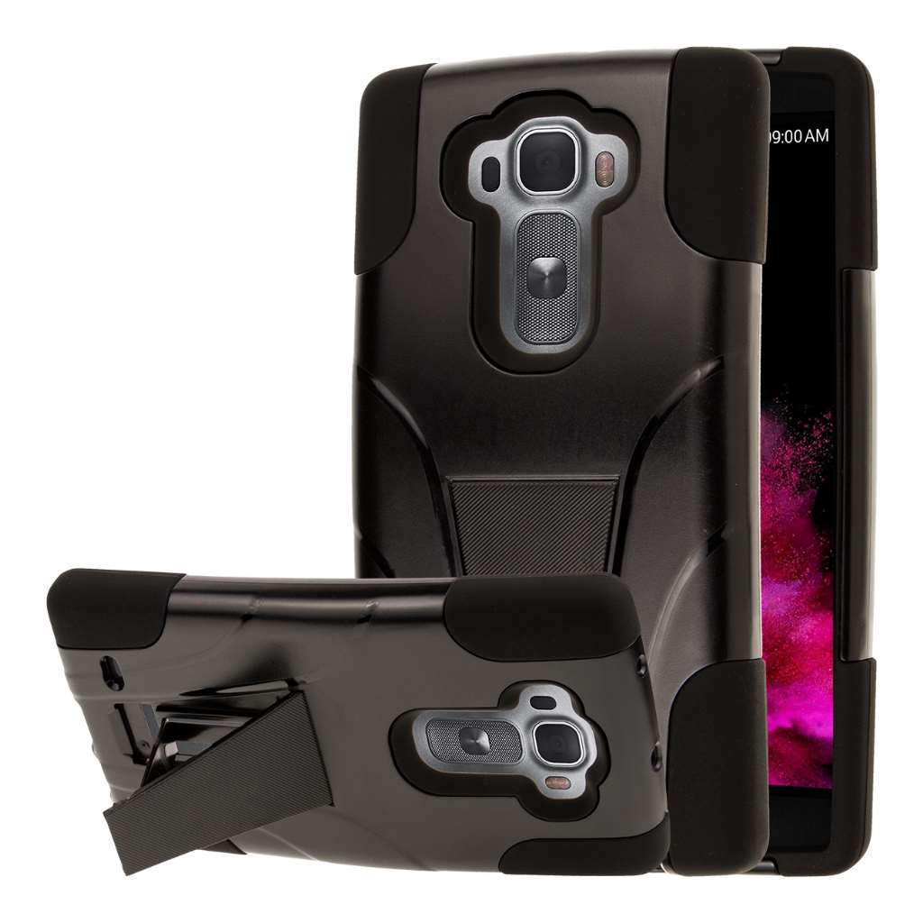 LG G Flex 2 - Black MPERO IMPACT X - Kickstand Case Cover