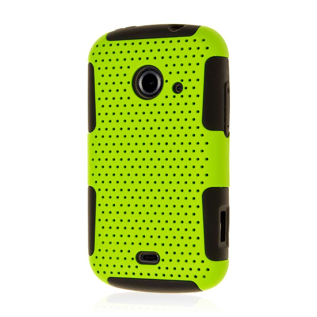 ZTE Zinger Z667 - Neon Green MPERO FUSION M - Protective Case Cover