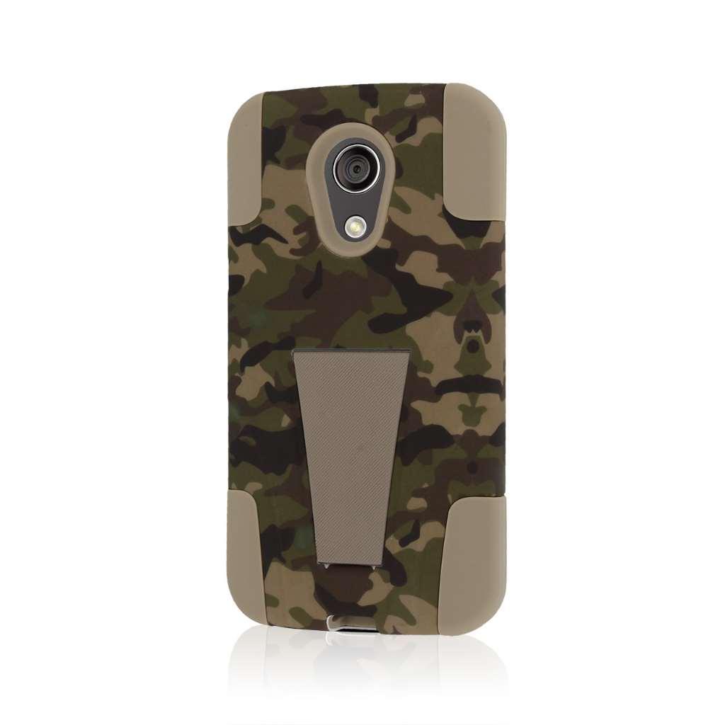 Motorola Moto G 2nd Gen 2014 - Hunter Camo MPERO IMPACT X - Kickstand Case