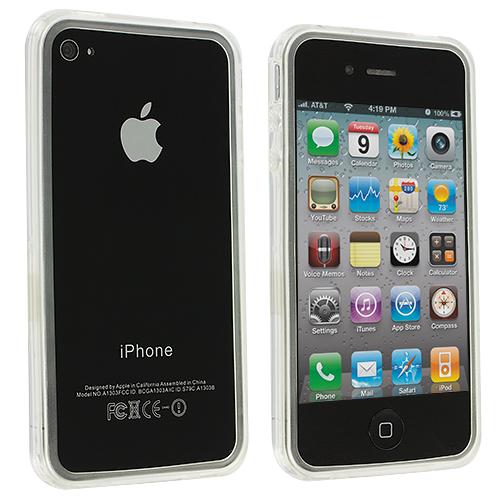 Apple iPhone 4 / 4S Clear TPU Bumper