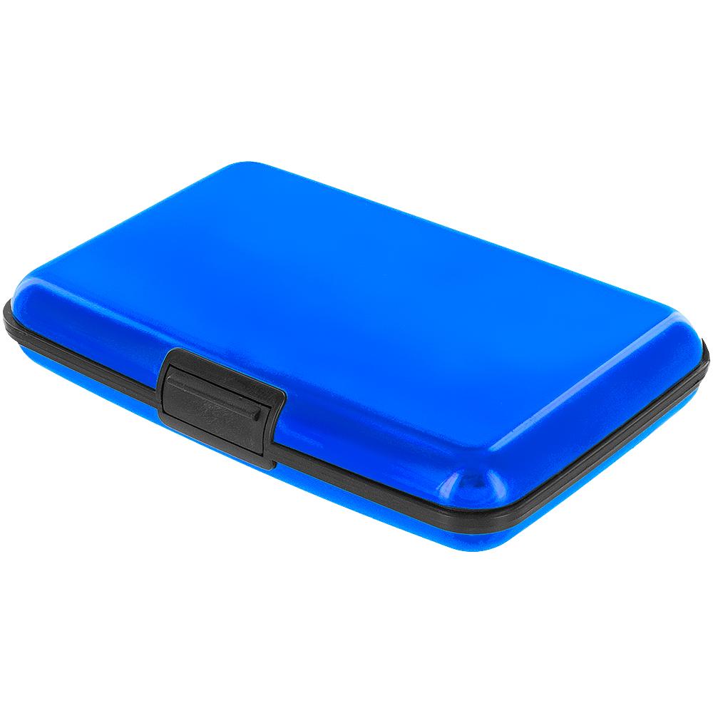 color business credit cards id wallet holder case box aluminum metal ebay. Black Bedroom Furniture Sets. Home Design Ideas
