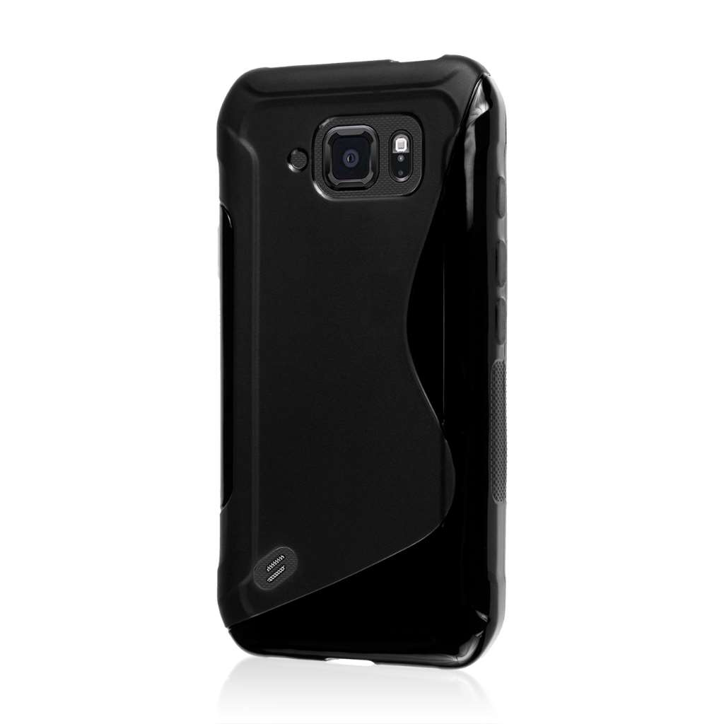 Samsung Galaxy S6 Active - Black MPERO FLEX S - Protective Case Cover