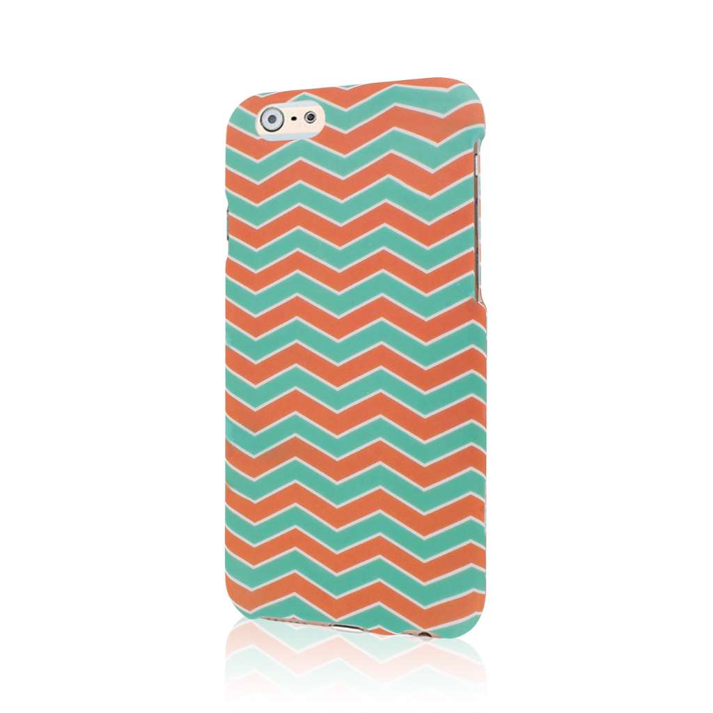 Apple iPhone 6/6S - Mint Chevron MPERO SNAPZ - Case Cover