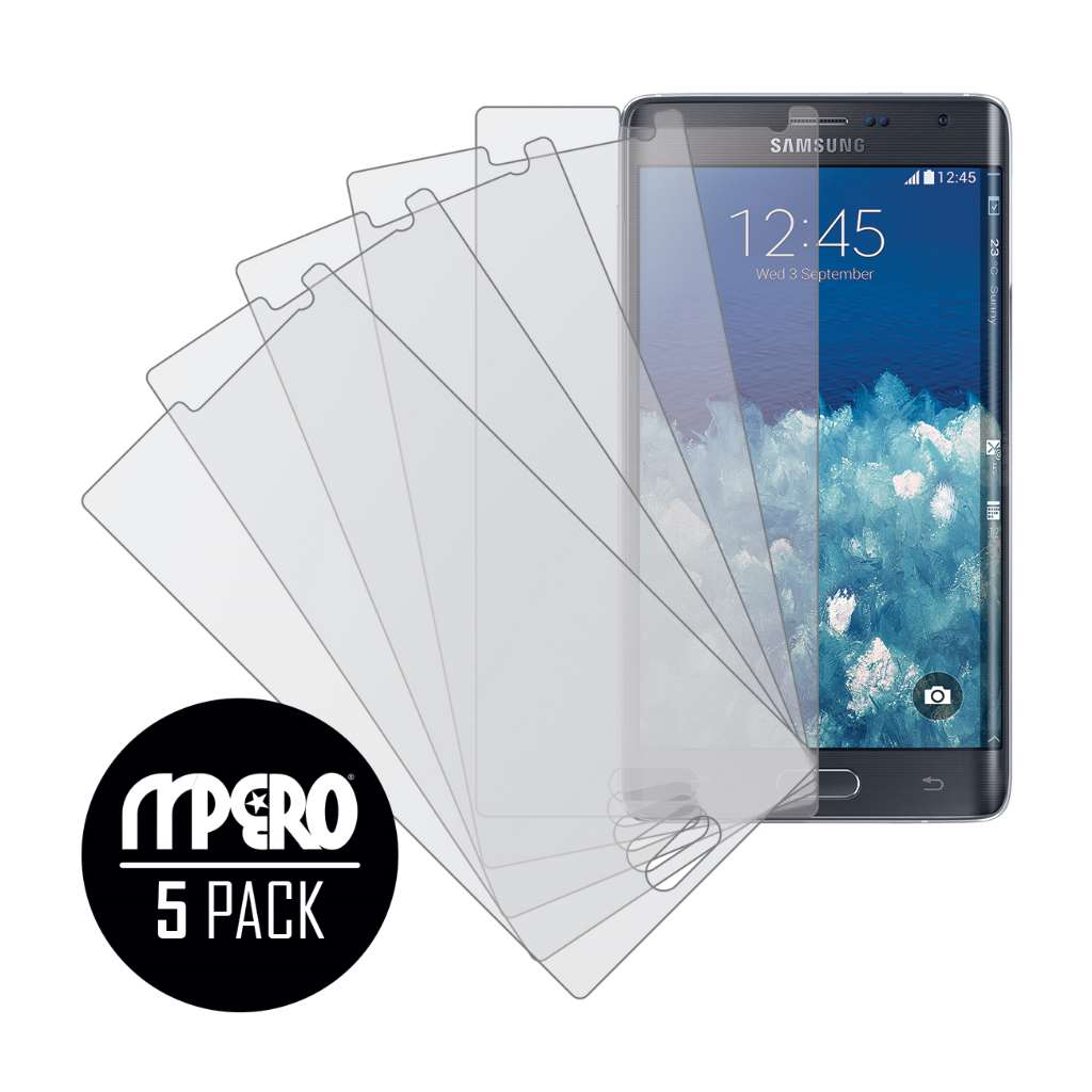 Samsung Galaxy Note Edge MPERO 5 Pack of Matte Screen Protectors