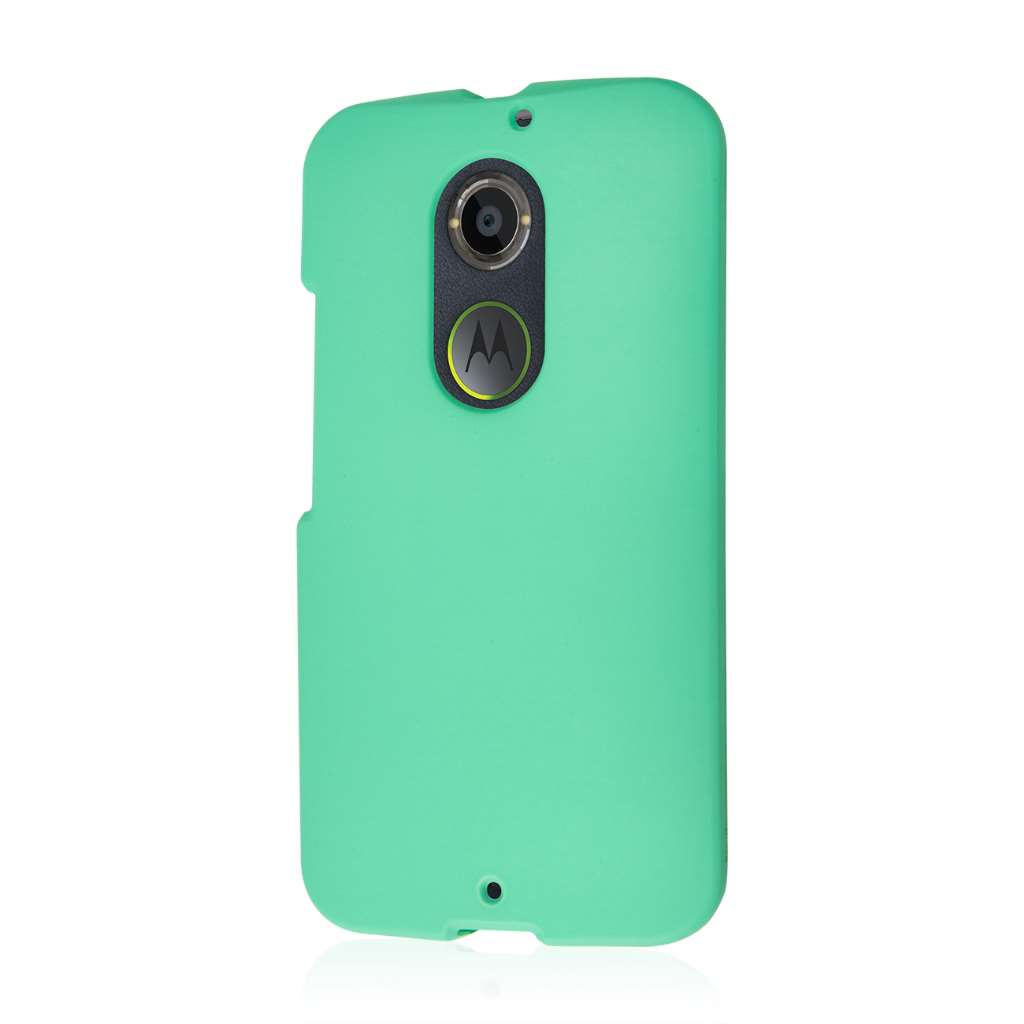 Motorola Moto X 2014 2nd Gen - Mint Green MPERO SNAPZ - Case Cover