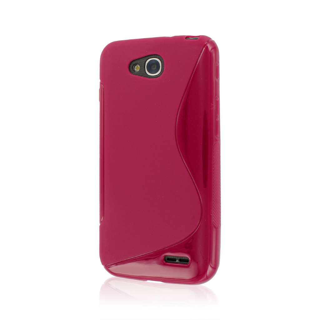 LG Optimus L90 - Hot Pink MPERO FLEX S - Protective Case Cover